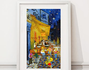 The Simpsons/Van Gogh