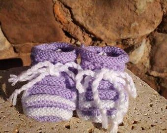 """Lavender"" 5 slippers"