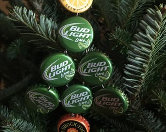 Beer top Christmas tree Ornament
