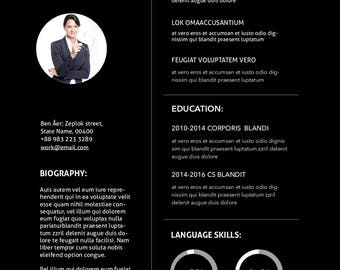 ms word and mac pages resume templatemodern resume template best resume template - Mac Pages Resume Templates