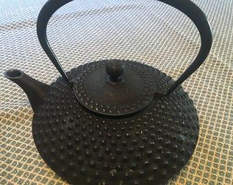 Japanese 32 Oz. Tetsubin Cast Iron Teapot