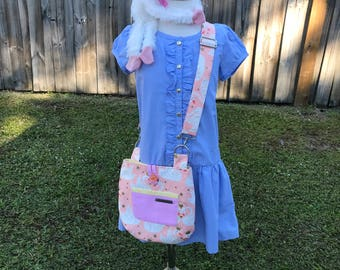 Reversible and Adjustable Cross Body Little Girls Bags – Royal Swans Bags