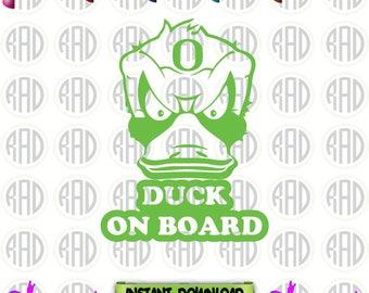 Oregon Ducks, Cut File, EPS,PNG,Svg, Vector