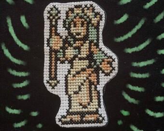 Palutena cross stitch patch