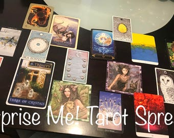 Surprise Me! Tarot Reading - Five Dollar Divination