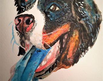 Pet Portrait Commissions- OPEN
