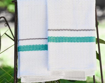 Pair of Handwoven Dish Towels