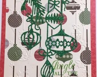 Jingle All The Way Holiday Card