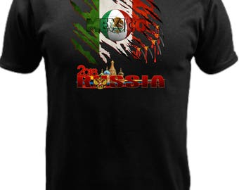 Mexico World Cup Russia 2018 w/flag