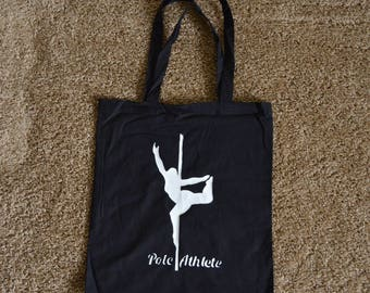"Lightweight Cotton ""Pole Athlete"" Tote"