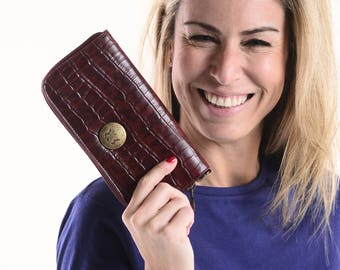 Charol and Croco Wallets