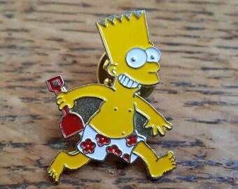 Bart Simpson 90s badges