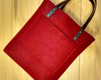 Felt bag, handbag Active