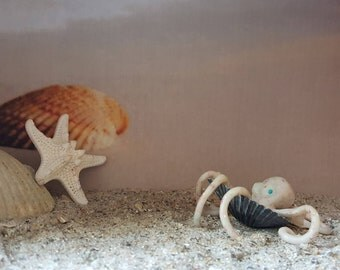 Mixed Media Octopus
