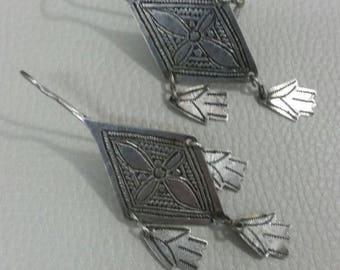 Old Berber Earrings Khamsa Morocco