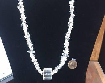 Vintage lucite necklace