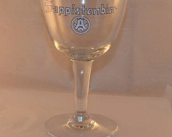 6 Glasses, Vintage glass Westmalle Trappistenbier (0.33L)
