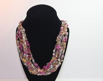 Sunset Lace Necklace