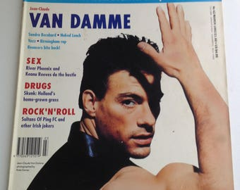 The Face Magazine - March 1992 - Jean Claude Van Damme, River Phoenix