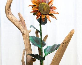 Sun Flower Sunflower Iron Flowers