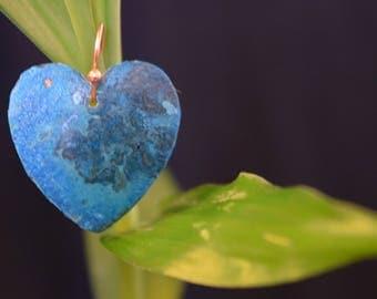 Patina Copper Earrings 3rd Generation Artist