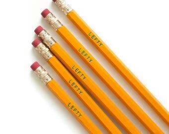 Left-Handed Pencils