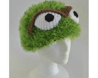 Oscar the Grouch Hat Costume Halloween Photoprop