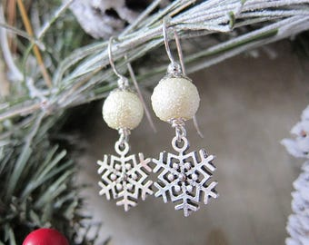 The First Snowflakes Earrings 2017