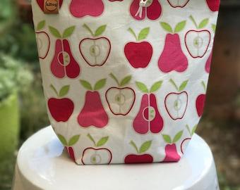 Sock sack/project bag summer fruit