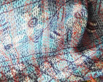 Silk Hand Stitch Shawl