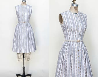 Vintage 1950s Day Dress Betty Barclay