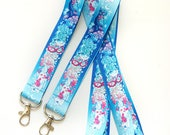Sailor Moon Luna, Artemis, Sailor V Mask, Moon Wand Rainbow Lanyard