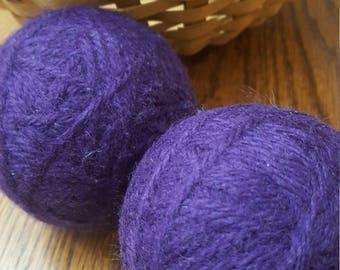100% Wool Dryer Balls - Royal Purple