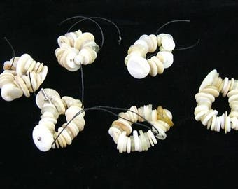 150 Assorted Vintage White and Cream Buttons