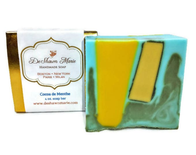 Cocoa de Menthe Handmade Soap