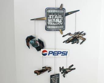 Star Wars Trilogy Pepsi Display Hanging Mobile, 1996 Advertising