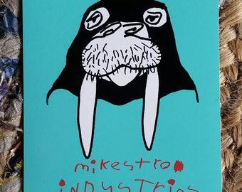 Bandit Walrus Sticker