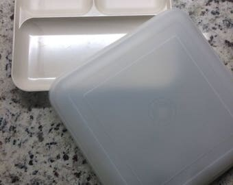 Ultra 21 Individual Divided Serving Tray by Tupperware