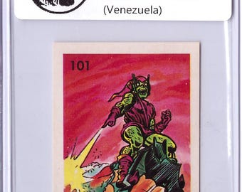 Very Rare 1981 Hulk Set Sticker – Venezuela – Green Goblin 18021505