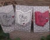 Ohio Girl Pin