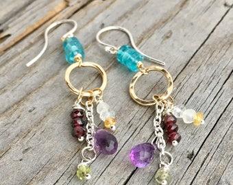 Sterling Silver Gemstone Earrings Wild Prairie Silver Jewelry