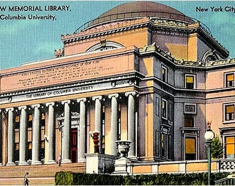 Vintage Postcard - Columbia University, New York City, New York (Unused)