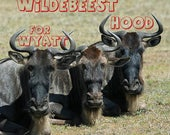 Wildebeest Hood for Wyatt