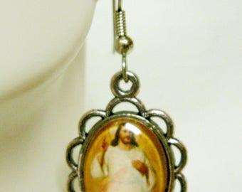 Divine Mercy earrings - AP07-118
