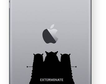 BUY 2 GET 1 FREE  Daleks Exterminate Doctor Who Vinyl Decal