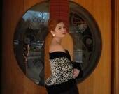 Leopard Velvet Jacket... Velvet Jacket.. Leopard Print Jacket... Leopard Jacket... Animal Print... Pin Up Jacket... Jacket For Women