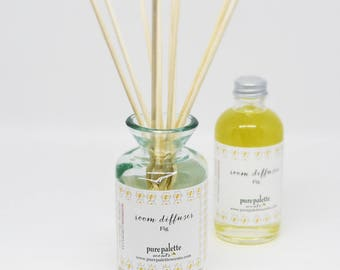 Fig Room Diffuser Refill oil with Natural Reeds