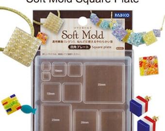 Padico resin square mold/Square flexible mold/Square resin mold/Square DIY jewelry mold/Padico jewelry mold/resin mold/mold for resin