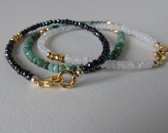 Summer gemstone sparkle bracelet