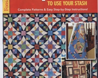 Fons & Porter's Scrap Quilts to Use Your Stash - TIB12505